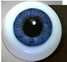 Exclusive Kristallglas Designer Augen