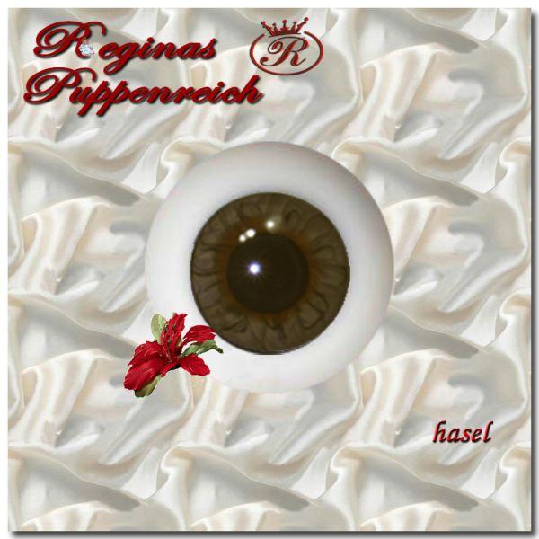 Exclusive Kristallglas Designer Augen rund hasel