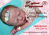 REALBORN-Kit Alexa sleeping