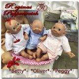 Betty, Oliver und Peggy - Goofy Baby Troll Kits Triplet-Pepe Catala