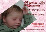 REALBORN-Kit James sleeping