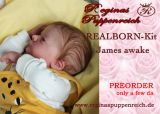 REALBORN-Kit James awake