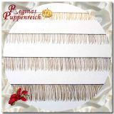 Real-hair eyelashes - 20/3-4 mm dark blond
